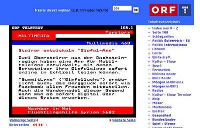 Großes Medienfeedback in Österreich