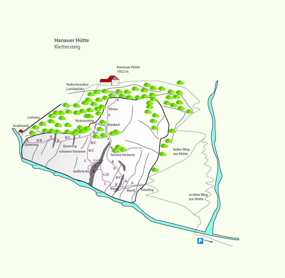 Hannauer Klettersteig