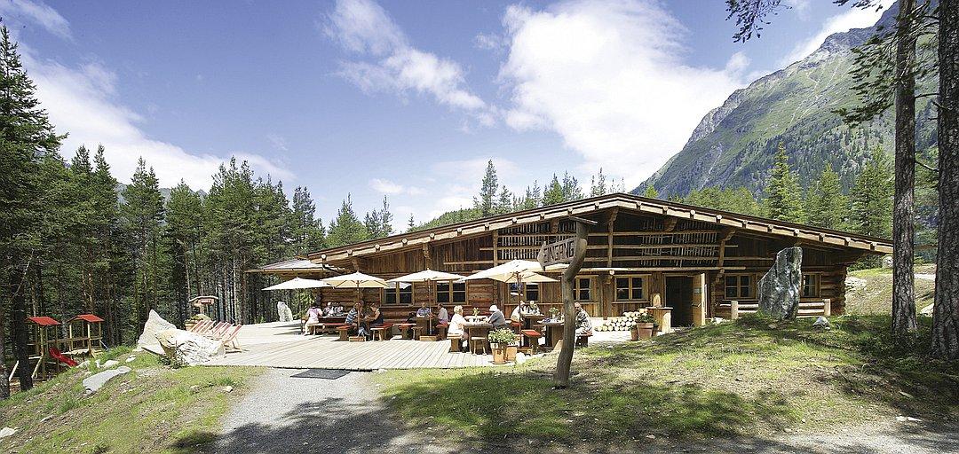 Feuersteinhütte / Sattelalm