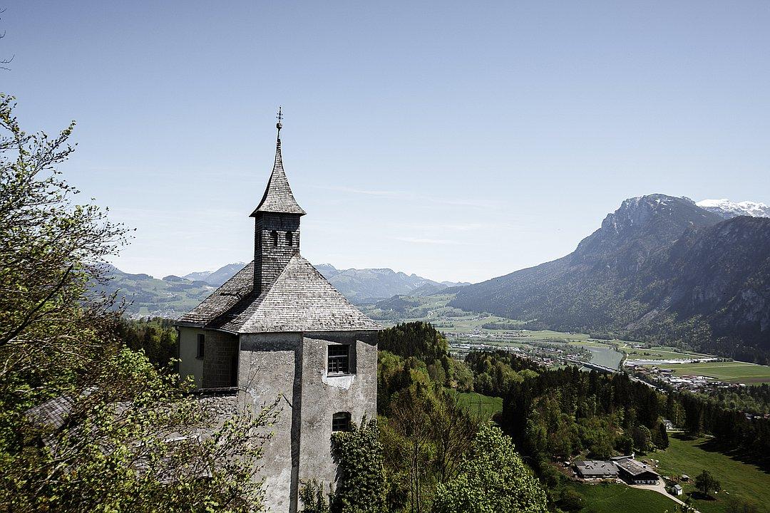 Thierberg-Kapelle in Kufstein - Spirituelle Eindrücke bei Traumpanorama