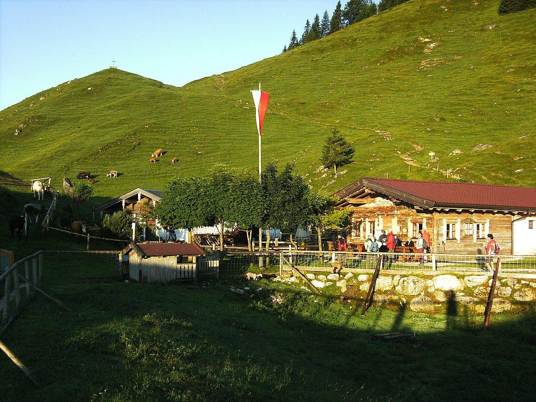 Kranzhorn Schutzhütte