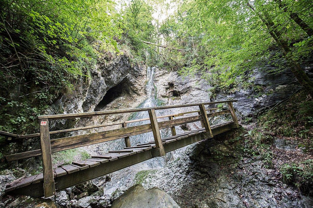 Wasserfall Bad Häring - fließende Lebensenergie