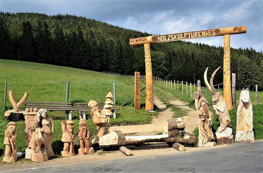 Holzskulpturenweg Nechnitz