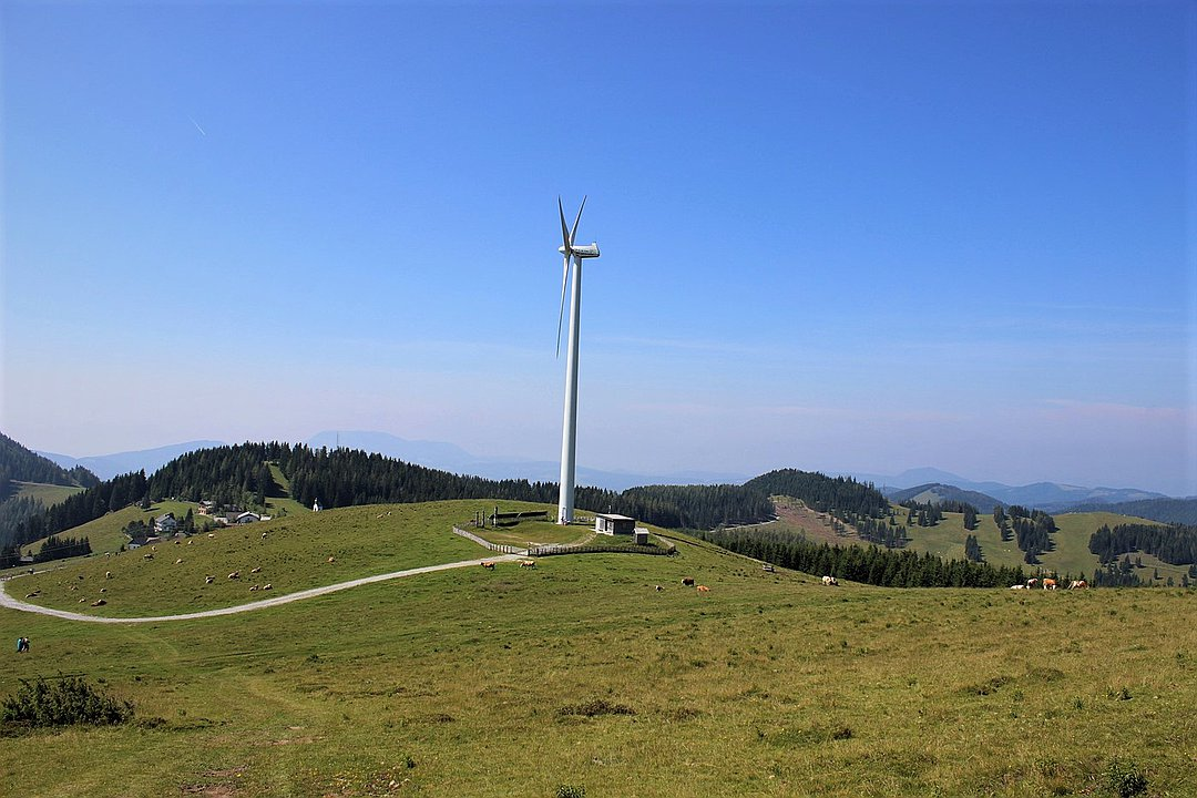 Windrad Sommeralm