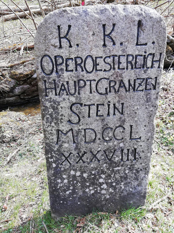 Hauptgrenzstein St. Oswald