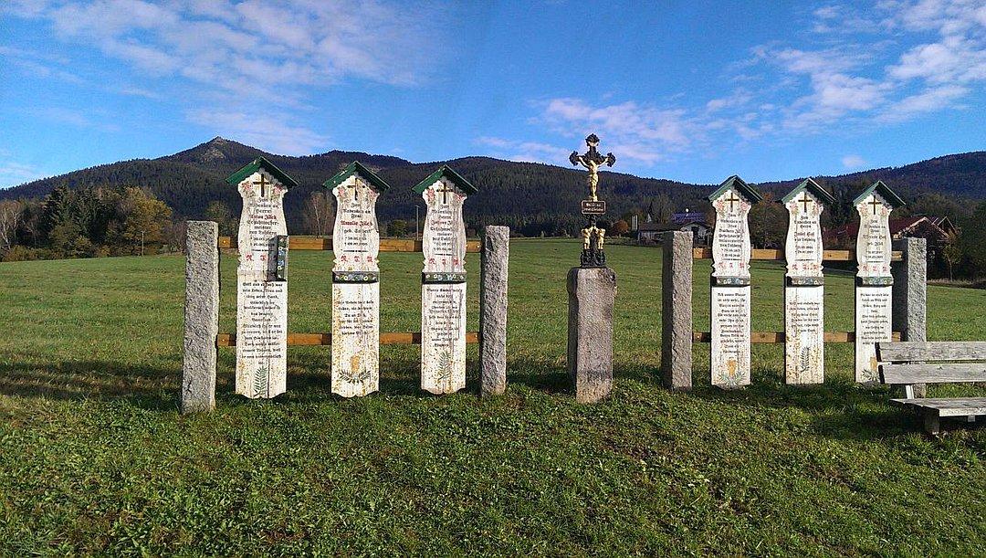 Totenbrettergruppe Arrach