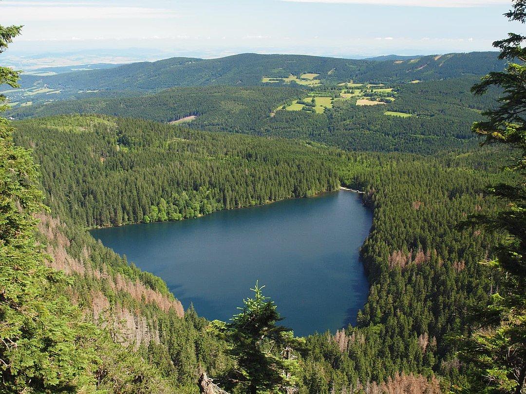 Černé jezero (Schwarzer See)