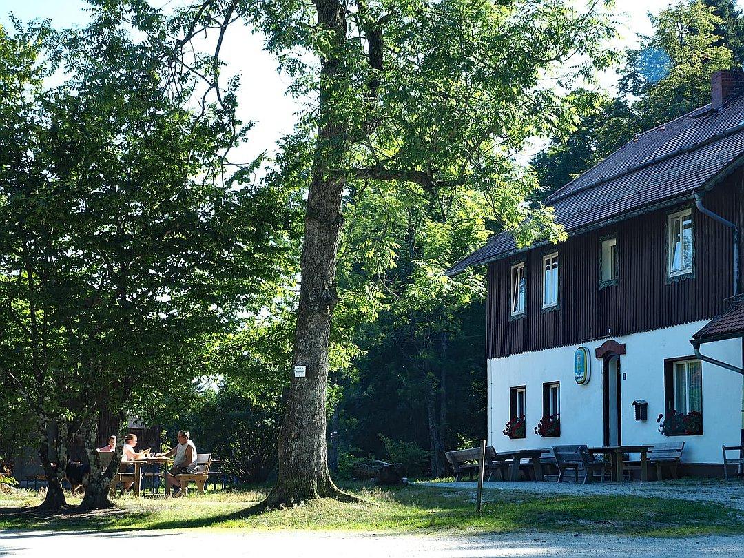 Diensthütte - Hoher Bogen