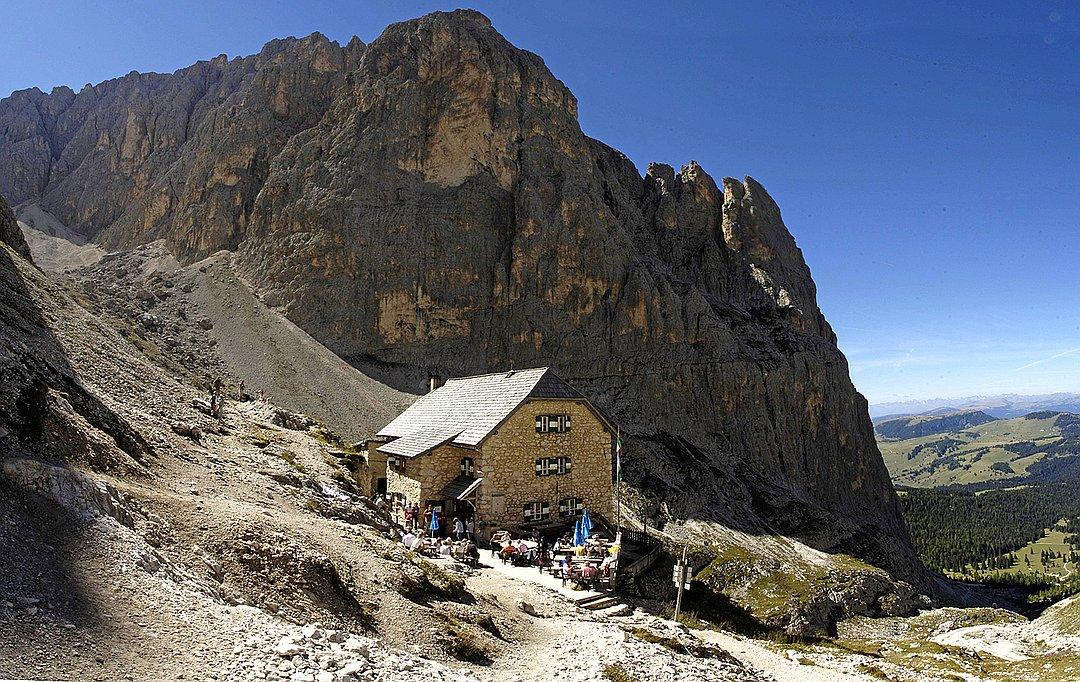 Utia de Dantersasc - Langkofelhütte - Rifugio Vicenza