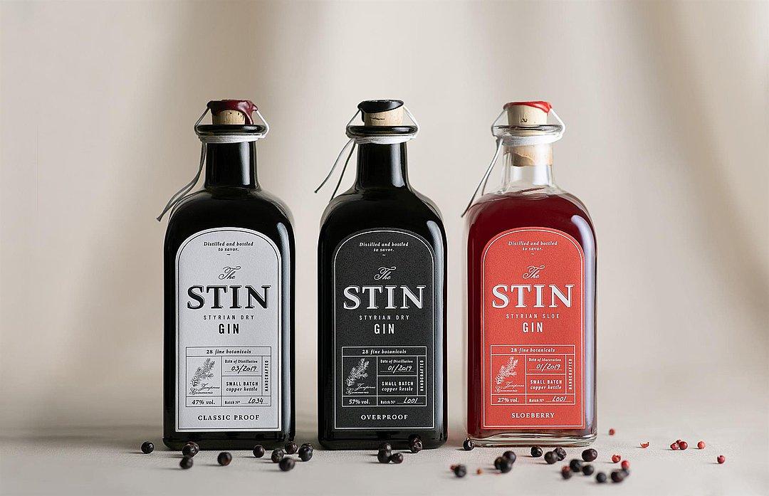 The Stin Styrian dry Gin (W057)