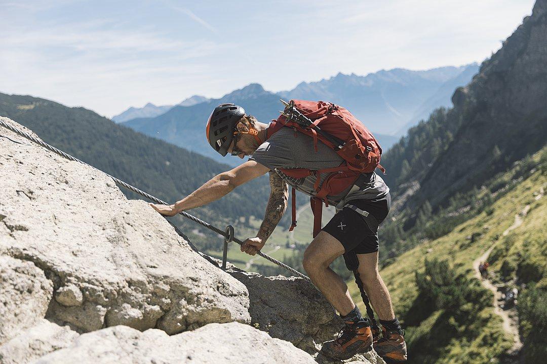 Wasserfall Klettersteig – Muttekopfhütte