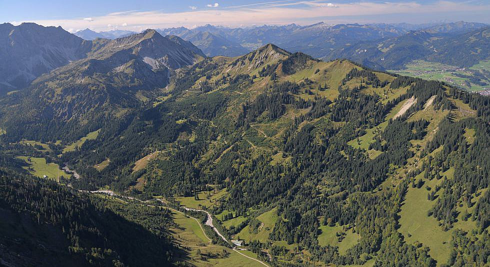 Gemeindegrenze Oberstdorf/Bad Hindelang
