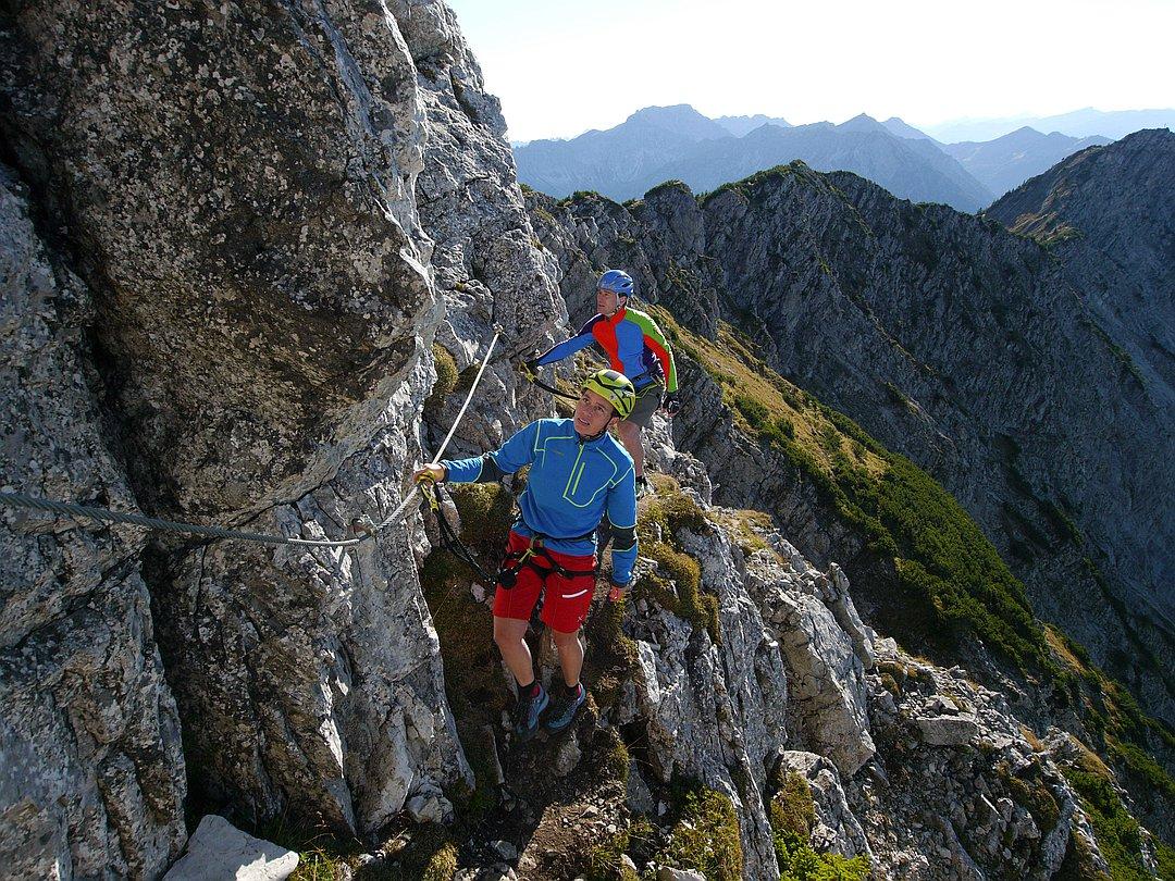 SALEWA-Klettersteig (Einstieg)