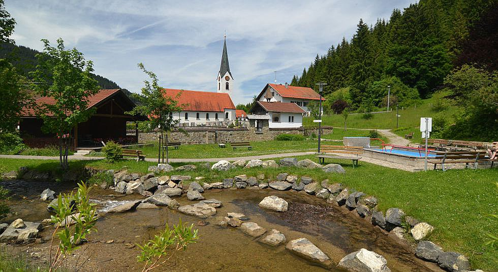 Kurpark Unterjoch
