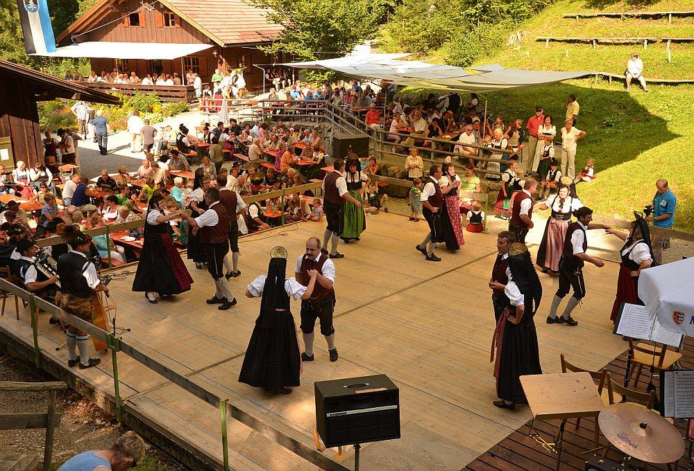 Waldfestplatz im Gund
