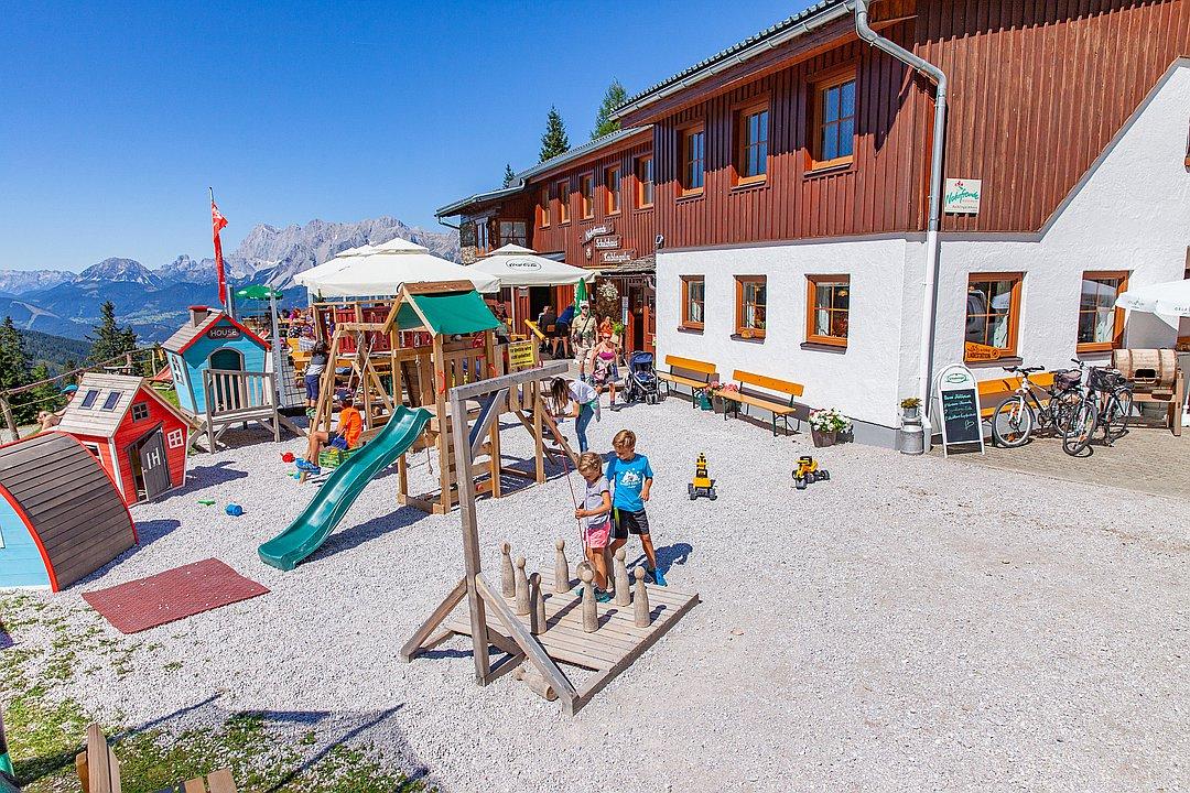 Kaibling Alm Naturfreunde Schutzhaus