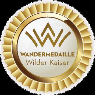 Wanderweg Wilder Kaiser - Wandermedaille