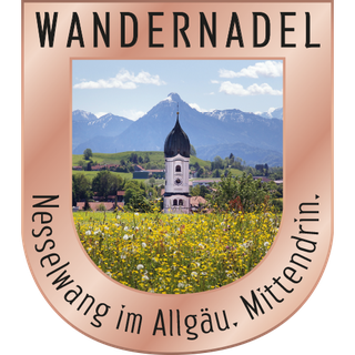 Wanderweg Nesselwang - Bronze Nadel