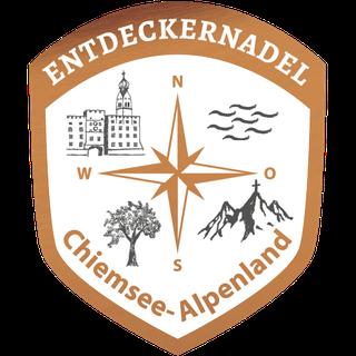 Wanderweg Chiemsee-Alpenland - Entdeckernadel Bronze