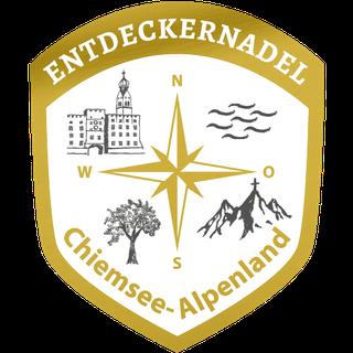 Wanderweg Chiemsee-Alpenland - Entdeckernadel Gold