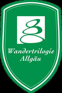Wanderweg Allgäu - Wiesengänger Stockwappen