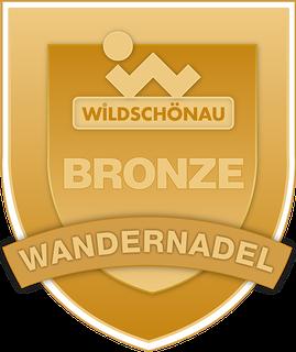 Sendero Wildschönau - Wandernadel Bronze