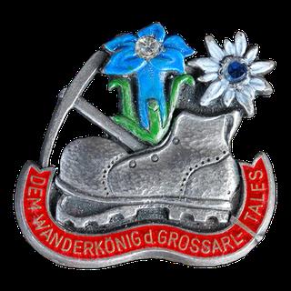 Wanderweg Großarltal - Wanderschuh in Silber