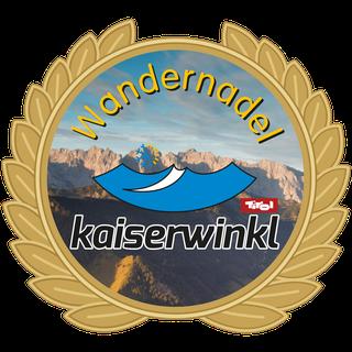 Hiking Trail Kaiserwinkl - Golden hiking badge