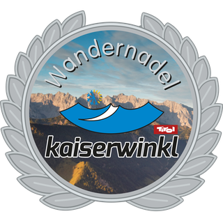 Hiking Trail Kaiserwinkl - Silver hiking badge