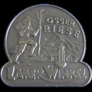 Szlak turystyczny Lamer Winkel - Silberne Nadel