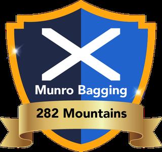 Wanderweg Scotland - Munro bag