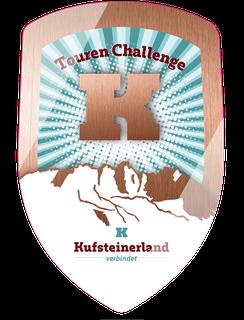 Hiking Trail Kufstein - Bronze stick crest 'Natural places in resonance'