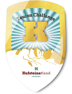 "Wanderweg Kufstein - Goldenes Stockwappen ""Berggipfeltour"""